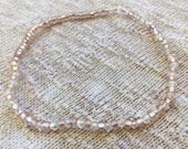 Light Pink Anklet, Stretc...