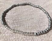 Silver Ankle Bracelet, St...