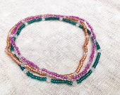Colorful Ankle Bracelets,...