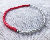 Pink Coral Ankle Bracelet...