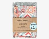 Eco Friendly gift | Beeswax Food Wraps | 3 pack | reusable, zero waste alternative to plastic wrap