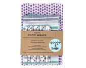 Beeswax Food Covers | 3 pack | eco friendly alternative to plastic wrap