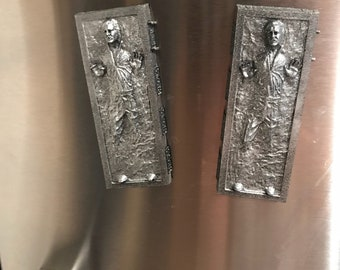 "4"" Han Solo in carbonite magnet"