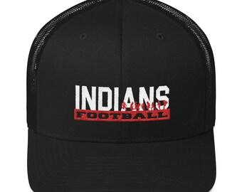 Lawrenceville Indians FootballTrucker Cap