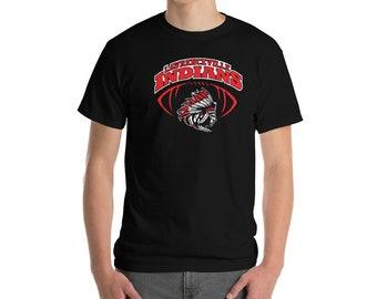Lawrenceville Indians Red Short-Sleeve T-Shirt