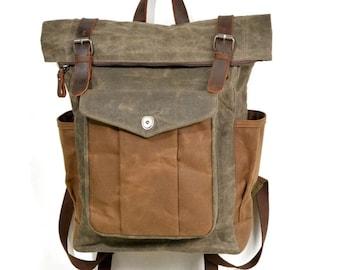 f47463c7c1ad Luxury Handmade Waxed Canvas Bag