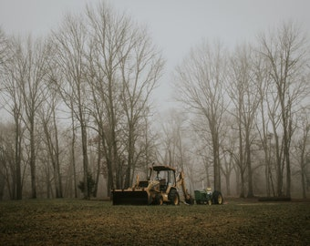 Early Morning Tractor