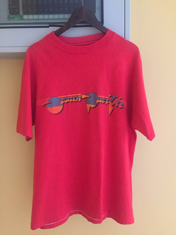 90s Illinois Association of love seekers T-shirt Single Stitch T-shirt Vintage Hugs Kisses tee T-shirt Red oversized sporty tee Size XL