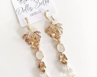 Bridal Earrings #dbg142