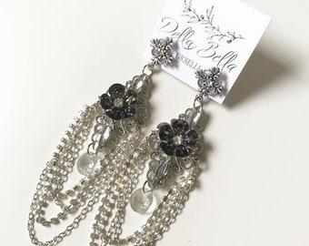 Bridal Rock Earrings #dbg119