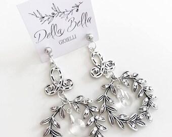 Bridal Big Earrings #bdg412