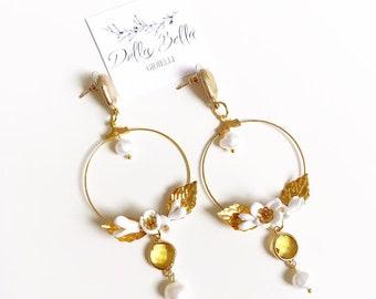 Bridal Earrings #dbg410