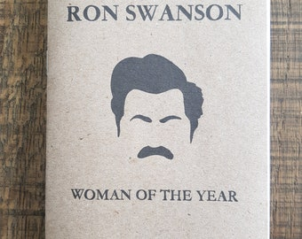 Ron Swanson (Parks and Recreation) A6 fanzine