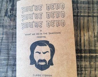 What We Do In The Shadows fanzine