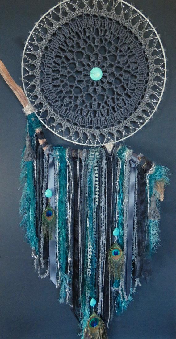 Boucles d/'Oreilles Clip Pendante Turquoise Bohème Original Mariage Cadeau AA 1
