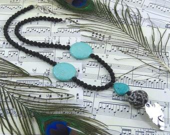 """Atypic"" ethnic boho necklace"
