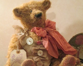 Lola Distressed Mohair Bear