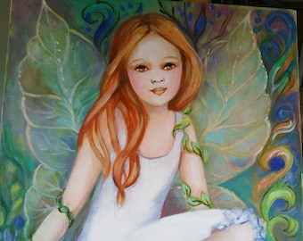 the Georgia fairy portrait