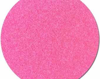 Ultra Baby Pink Fluorescent POLYESTER ULTRA FINE glitter - PolyFloGlo glitter - Glows under a blacklight!
