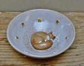 Sleeping Fox Trinket Dish...