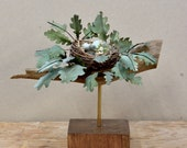Mixed Media Nest Sculptur...