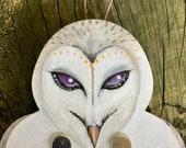Flappy Owl - kinetic wall...