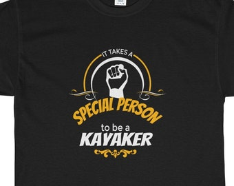 Kayaker Is A Special Person Heavy Cotton Tee Shirt