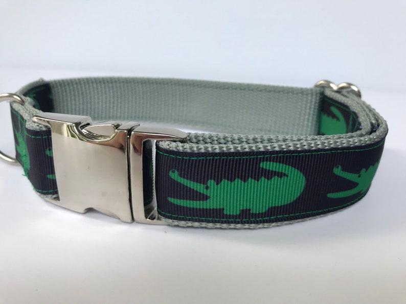 19dfd925d0e97 Later Gator Collar - Lacoste inspired dog collar // alligator dog collar //  preppy dog collar // boy dog collar