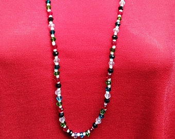 Multi-Color Bead Necklace