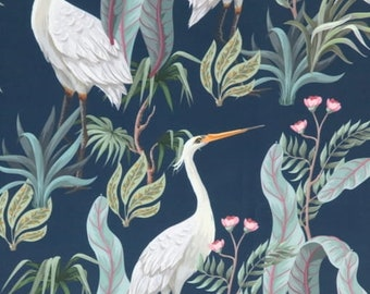 Geometric Teal Grey Black White Mosaic Upholstery Printed Velvet Sold By Half a Metre