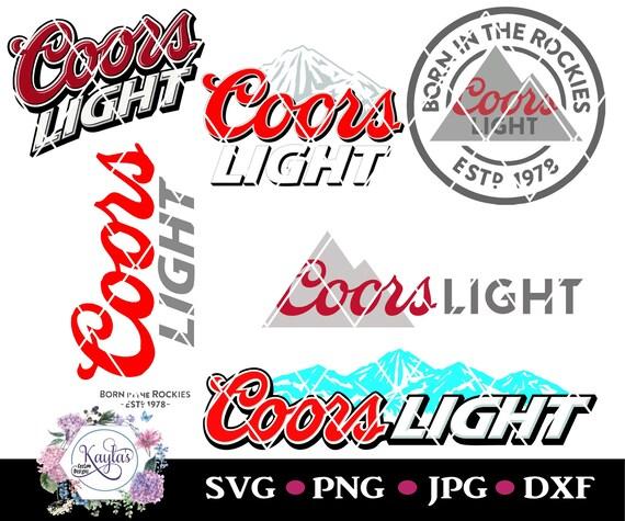 Coors Light Coors Banquet Logo Tumbler Svg Png Jpg Etsy