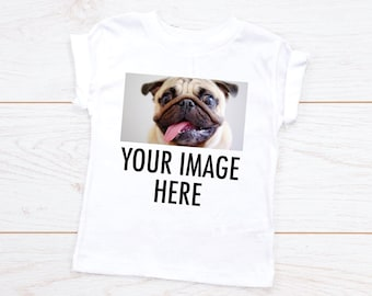 e46be975 Custom Design T-shirt Personalized Toddler & Youth Shirt, Your Image Here Customized  Tee, Design Your Own Custom Made T-Shirt, Toddler Youth
