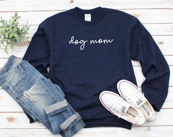 320817f2 Dog Mom Script Heavy Blend Crewneck Sweatshirt, Dog Lover Sweater, Dog Mom  Sweatshirt, Pet Lover Crew Sweater, Gift For Dog Mom, Fur Mama