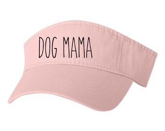 67cfb0bac4a Dog Mama Visor Hat