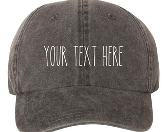 469231b8863 Your Text Here Custom Dad Hat Cap