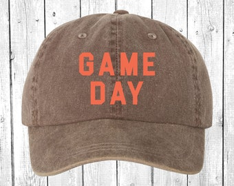 Game Day Custom Team Color Unstructured Dad Hat Cap ebc86b791d93