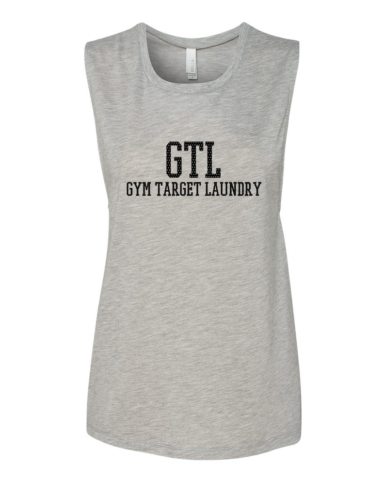 70cc124a492786 GTL Gym Target Laundry Women's Workout Muscle Shirt | Etsy