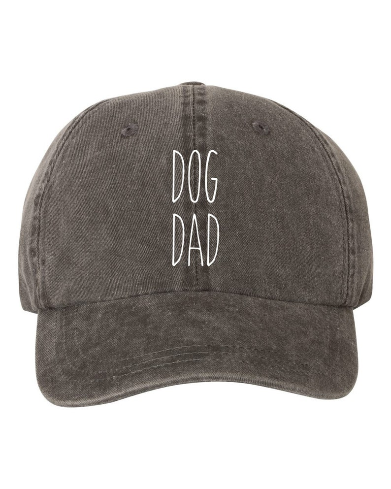 6659ad5f76c52e Dog Dad Hat Cap Pigment Dyed Unstructured Baseball Cap Dunn | Etsy