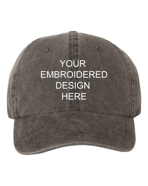 Wholesale Bulk Your Custom Text Design EMBROIDERED Dad Hat  e09b0104774
