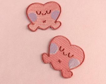 Ai the Heart - Kawaii Love - Cute Iron-on Patch