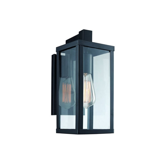 huge discount 5d129 6dea7 Wall Light sconce/ light fixture/ Outdoor wall sconce/ wall lamp/ lantern  for living room, bedroom and bathroom- black or white finished