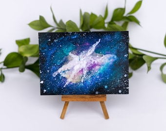 Galaxy Watercolor Illustration Print