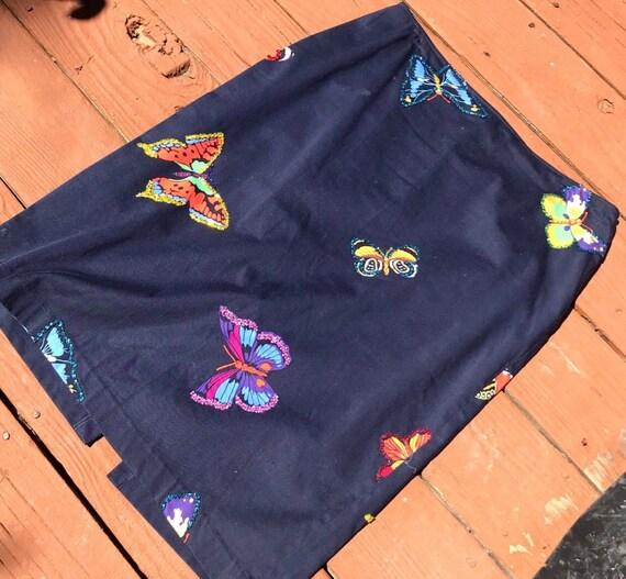 Beaded Butterfly skirt