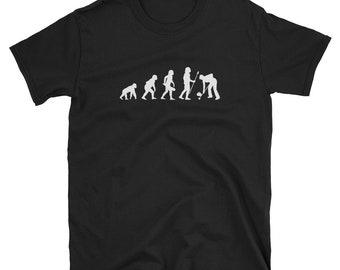 c10fde408 Curling Evolution Sheet Bowls Ice Chess Boules Shuffleboard Gift  Short-Sleeve Unisex T-Shirt
