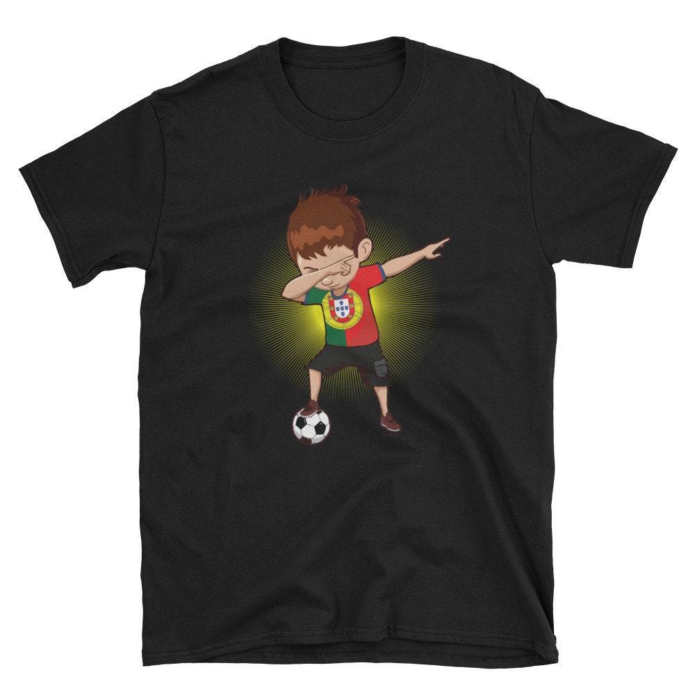 Football Dab Portugal Portuguese Footballer Dabbing Rugby Goal Soccer Gift T-shirt Unisex Tshirt