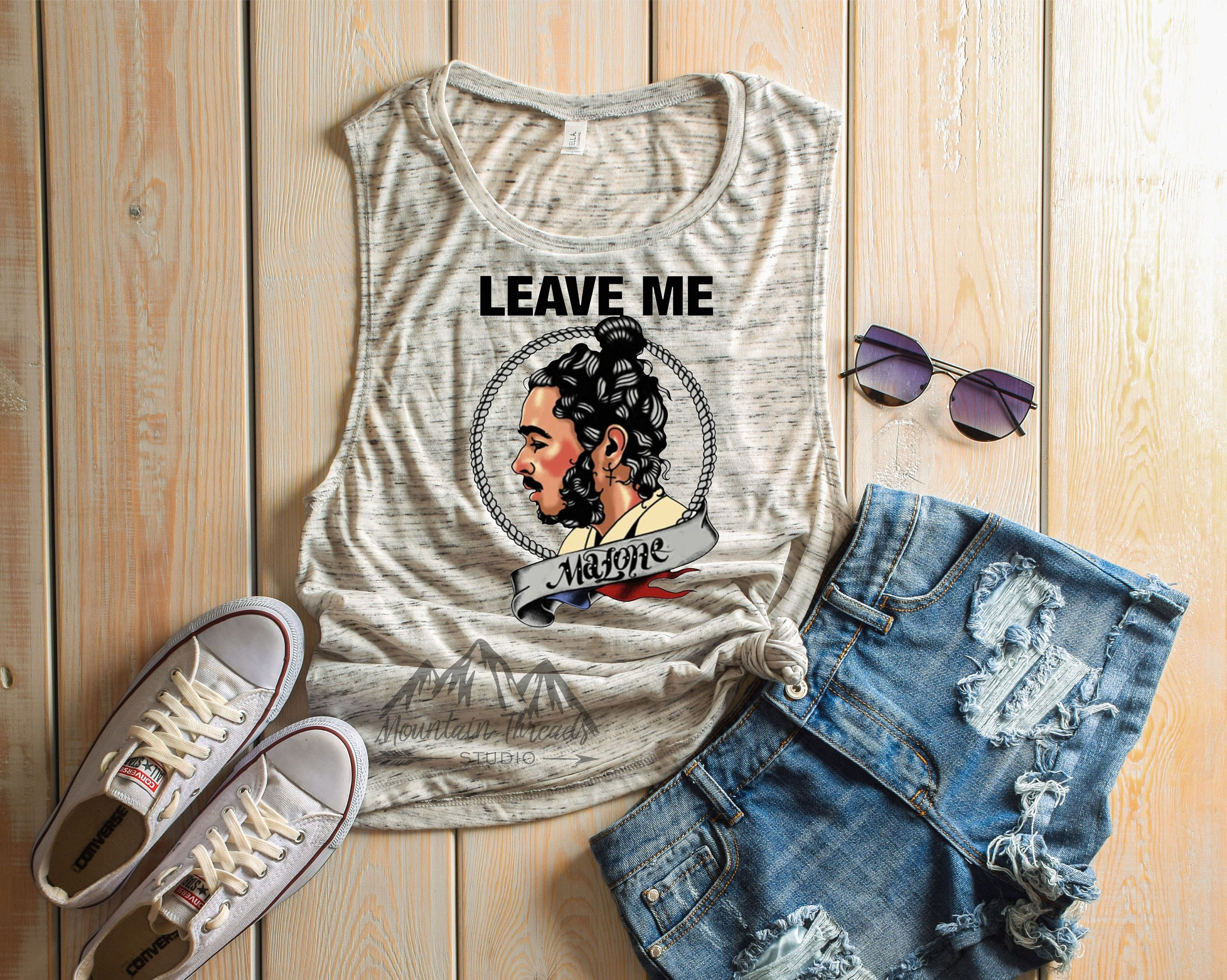 77cb396a95ff FAST SHIPPING Leave me Malone shirt Leave me Malone Post