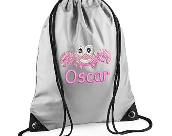 MARSHMELLO SKIN Gaming**Personalised** PE Gym Pump swimming school bag sac