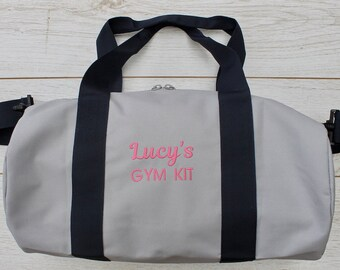 Personalised Gym Bag   Ladies Gym Bag   Gifts for Her   Gym Lovers gift    Birthday present Gym Lover   df31dd585f