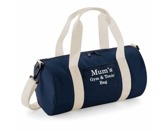 6c227cf017 Personalised gym bag