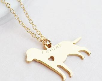 Personalised Dog Necklace